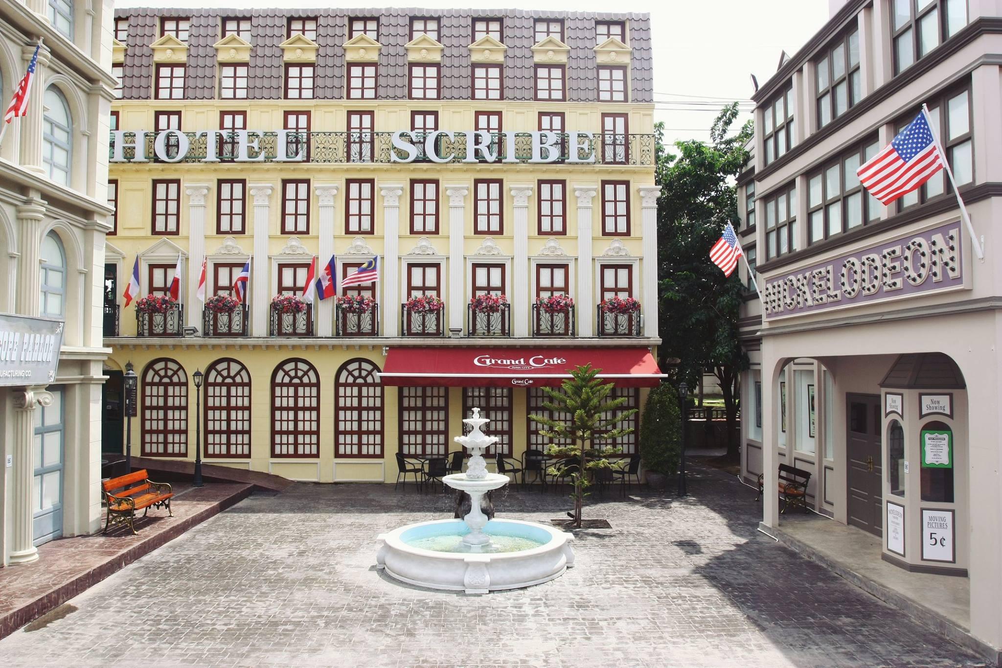 บรรยากาศโรงแรมสคริบ ณ หอภาพยนตร์ (ภาพจาก: www.facebook.com/ThaiFilmMuseum)