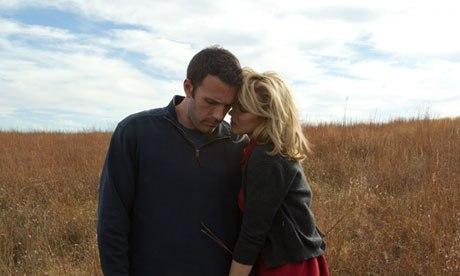 Rachel McAdams and Ben Affleck in To the Wonder.