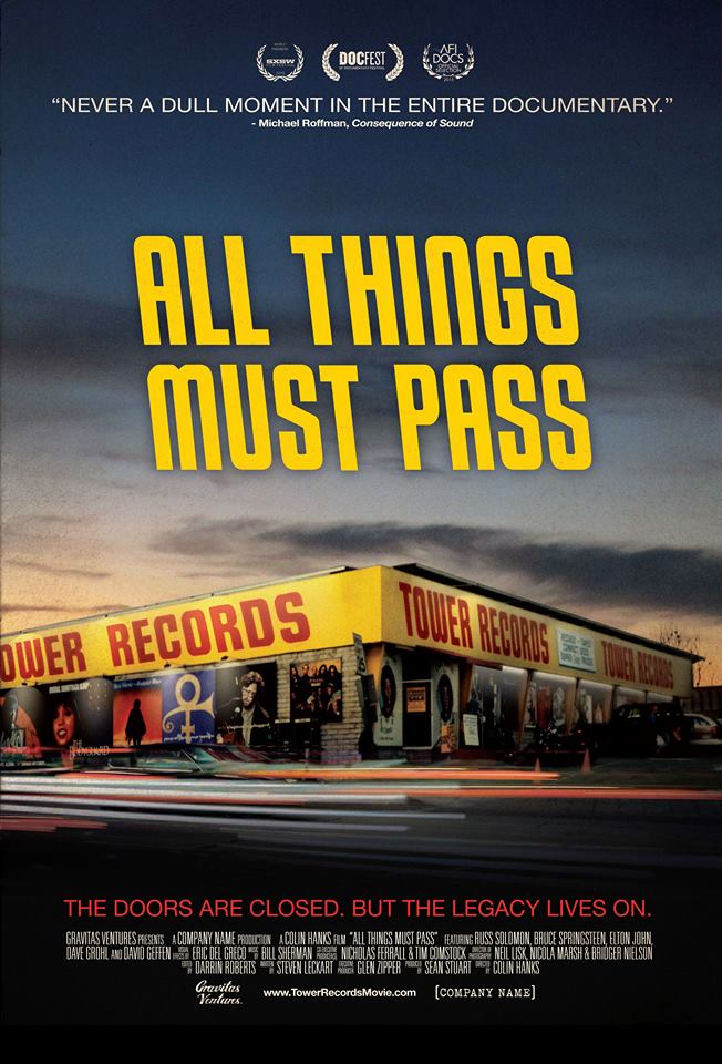 All Things Must Pass: The Rise and Fall of Tower Records (2015)